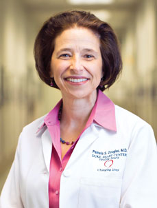 Pamela S. Douglas, MD, from Duke Clinical Research Institute, and fellow investigators are studying the effects of statin therapy on CV risk in patients with HIV.