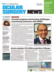 Ocular Surgery News April 10, 2015