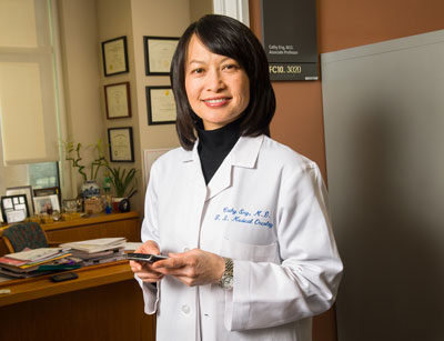 """Anal cancer is rare compared with other malignancies, but there has been """"a very clear rise"""" in incidence, according to Cathy Eng, MD."""