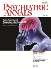 Psych Annals July 2013 Cover