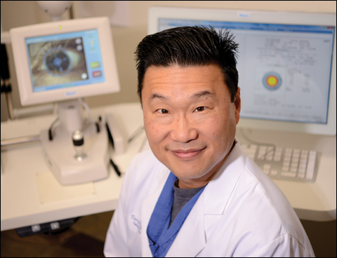 Severe pain, decreased vision from subepithelial infiltrates, and conjunctival membrane or pseudomembrane formation are indications for using topical corticosteroids in severe cases of EKC, according to Terry Kim, MD.