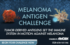 Melanoma Antigen Challenge <br>Tumor-derived antigens set the immune system in motion against melanoma